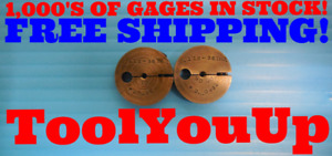 118 36 Thread Ring Gages 1180 Go No Go P d s 095 0932 Inspection Tool