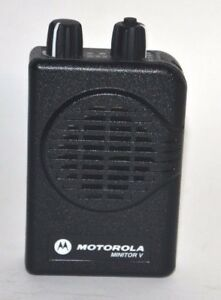 Motorola Minitor V Low Band 33 37mhz 2 Chl Sv Pager A01kms9239bc