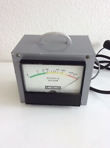 Labconco Analog Micron Hg Vacuum Gauge Model 75800 00