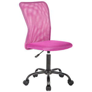 Middle Back Mesh Office Chair Computer Task Swivel Seat Ergonomic Chair 1265