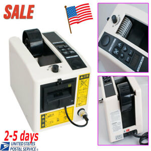 us Sale electric Automatic Tape Dispensers Adhesive Tape Cutter Package Machine