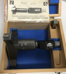 Fowler 54 335 225 Bowers Sylvac Electronic Bore Gage 8 03 9 05 204 230mm
