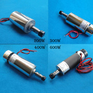 Cnc Air Cooled Engraver Spindle Motor Dc12v 48v 12000r Er11 200w 300w 400w 600w