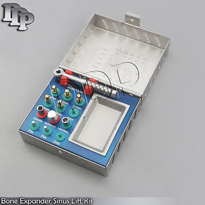 Bone Expander Kit Dental Sinus Lift With Saw Disks Implant Surgical Instruments