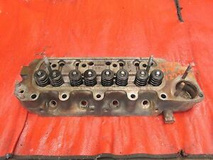 Mg Midget Austin Healey Sprite Original 1275 Cylinder Head W Valves