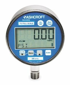 Ashcroft Gauge Pressure Digital 302074sd02l300bl