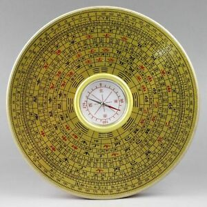 Chinese Vintage Handwork Guide Direction Compass Old Superb