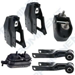 Motor Trans Mount 6pcs For 2000 2005 Chevrolet Impala Monte Carlo 3 8l