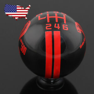 Usa 6 Speed Firgure Stick Gear Shift Knob Manual For Ford Mustang Shelby Gt 500