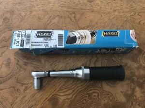 Hazet 6108 1ct Torque Wrench 2 10 Nm 1 4 Drive Ratchet Made In Germany
