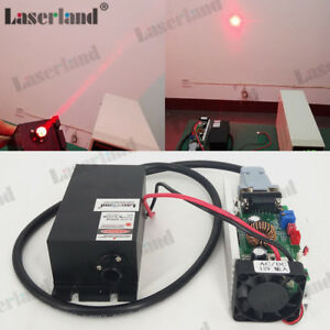 637nm 638nm 2000mw 2w Orange Laser Beam Red Diode Module 12v Ttl Light Show