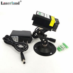 Laserland 532nm 50mw 80mw Green Laser Diode Module W Fan Adapter Stage Lighting