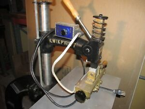 Kwikprint Model 64 Hot Stamping Machine 6 435 Leather Embossing Bookbinding