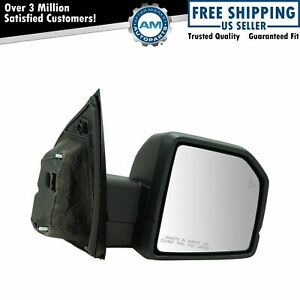 Mirror Power Heated Signal Blind Spot Spotlight Textured Black Right Rh For Ford