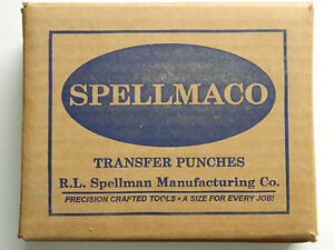 26 Piece Transfer Punch Set Punches Letters A To Z Usa Spellmaco Az