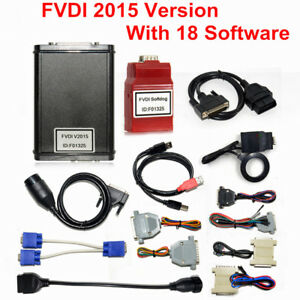 Flyobd Fvdi Abrites Commander Full Version With 18 Software Diagnostic Scan Tool