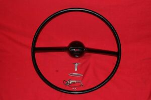 1961 Cutlass F 85 Repainted Steering Wheel