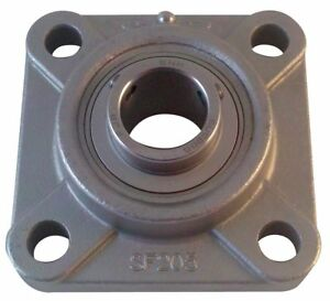 Ntn Flange Bearing 4 bolt Ball 1 1 2 Bore Sucf208 24