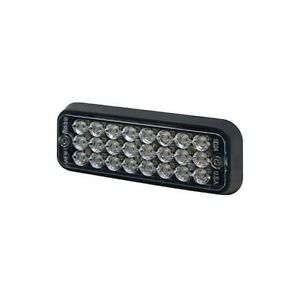 Ecco 3510r Sae Class I Red Surface Mount Strobe Compact Led