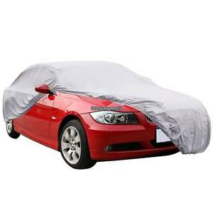 Universal Outdoor Car Cover Uv Snow Rain Waterproof Bag Cable Lock Dust Proof