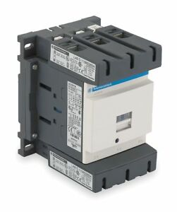 Schneider Electric Iec Magnetic Contactor 120vac Coil Volts 115 Full Load