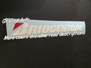 Compare To Compatible With Bridgestone Windshield Decal Car Sticker Banner