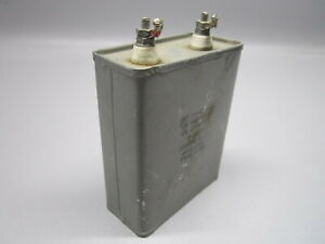 Chicago Condenser Corp Hermetically Sealed Oil Capacitor Cp70e1eg805v