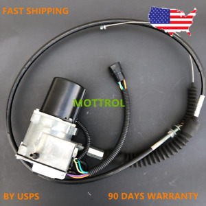 Throttle Motor As Governor Fits Caterpillar Cat E312 312 311 Single Cable 5 Pin