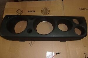 Amc Javelin Amx Dash Black Plastic Trim Around Gauges