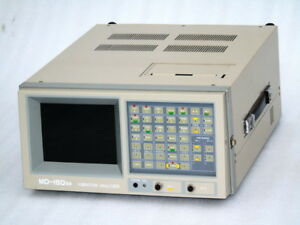 San Denshi Japan Vibration Analyzer Md 150sx Industrial Grade With Kit