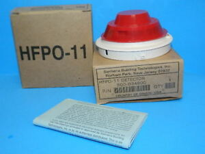 New Siemens Hfpo 11 Intelligent Fire Alarm Smoke Detector Head 27 Available