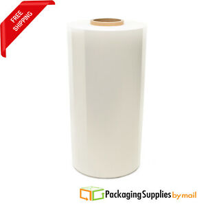20 X 63ga 5000 White Pallet Machine Wrap Plastic Stretch Shrink Film 3 Rolls