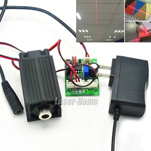 650nm 200mw Red Focusable Line Laser Diode Module 12v Adapter Location Led