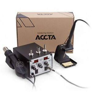 Accta 401 Hot Air Rework Station Soldering Iron Hot Air Gun 450 W 220 V