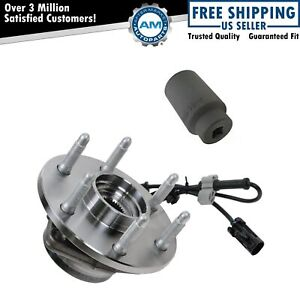 Front Wheel Hub Bearing W 36mm Socket For Chevy Gmc Pickup Truck 4x4 Awd