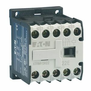 Eaton Miniature Iec Magnetic Contactor 240vac Coil Volts 6 Full Load