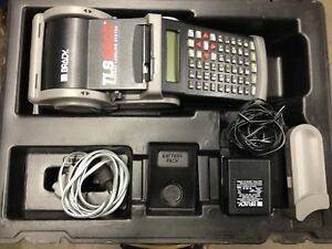 Brady Tls2200 Thermal Labeling System W Case Charger Xtra Ink Roll