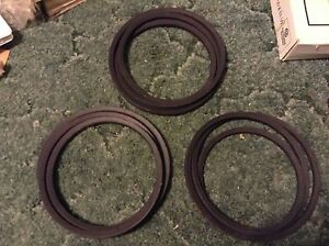 526369 A New 3 Belt Set For A New Idea 526 527 5406 5407 Disc Mowers