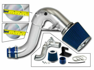 Bcp Blue For 11 14 Sonata 2 0l L4 Turbo Heat Shield Cold Air Intake Kit Filter