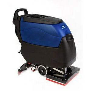 Pacific 855405 S 20 20 Walk Behind Orbital Auto Floor Scrubber W traction Drive