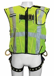 Falltech L xl Confined Space Full Body Harness 3375 Lb Tensile Strength 310