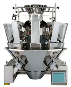 Wrapsense Multi head Weigher scale 10s Optional Vertical Form Fill And Seal