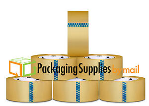 180 Rolls 2 Inch X 110 Yards 1 6 Mil Clear Hotmelt Packing Package Tape