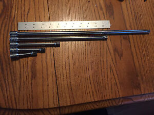 Snap On 3 8 Drive 5 Piece Extension Set Fx2 Thru Fx18 Free Shipping