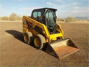 2016 Caterpillar 226d Skid Steer Wheel Loader Tire Machine Cat 226d