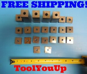 P w Misc 58 Pcs Stackable Gage Blocks Johnny 1005 1 Gage Blocks