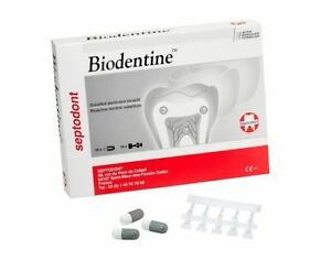 2 X Septodont Biodentine 5 X Capsules Bioactive Dentin Substitute Free Shippiing