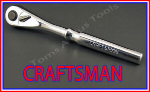 Craftsman Hand Tools 3 8 Drive Full Polish Quick Release Ratchet Socket Wrench