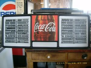 New 4ft Coca cola Menu Board Sign W letters Numbers Sets