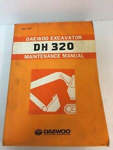 Dh320 Daewoo Excavator Maintenance Service Manual